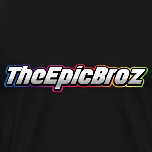 TheEpicBroz - Mannen Premium T-shirt
