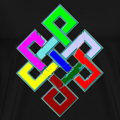 LBGT Rainbow Pride CSD T-Shirt - SEI DU SELBST! - Männer Premium T-Shirt