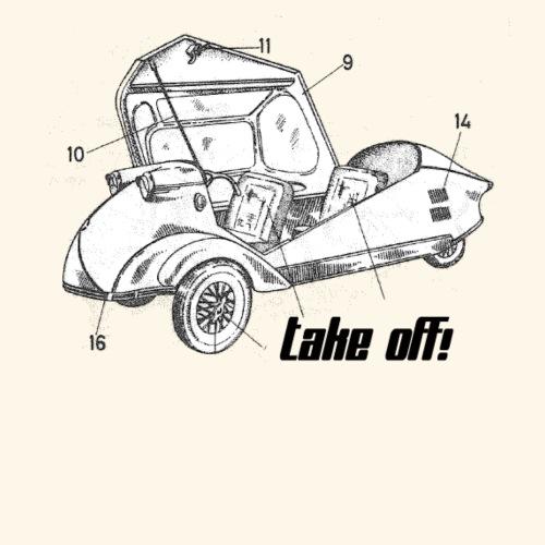 Take off ? - Männer Premium T-Shirt
