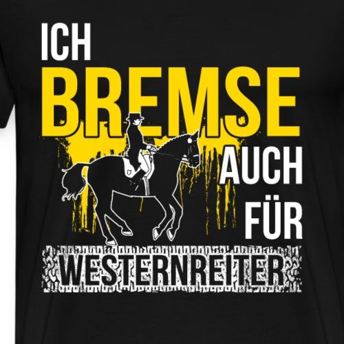 Englischreiter Englischreiterin Pferd Reitsport - Männer Premium T-Shirt