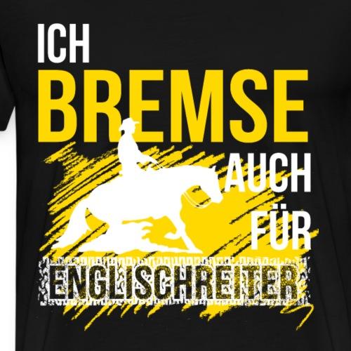 Westernreiterin Westernreiten Pferd Reitsport - Männer Premium T-Shirt