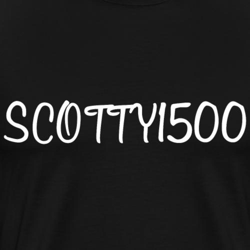Scotty1500 T-Shirt (Black) - Men's Premium T-Shirt
