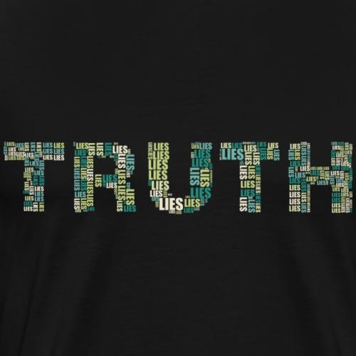 Wahrheit oder LIES? - Männer Premium T-Shirt