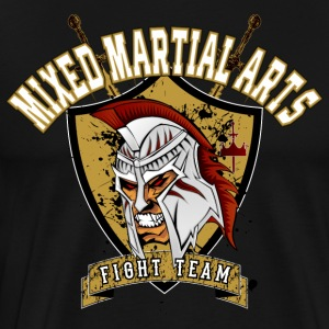 MMA Fight Team T-Shirt / Tee - Männer Premium T-Shirt