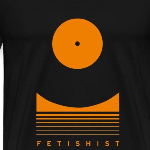 Vinyl-Fetischisten aufgepasst! - Männer Premium T-Shirt