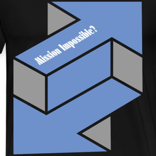 Mission Impossible? (Two-Arrows-Edition) - Männer Premium T-Shirt