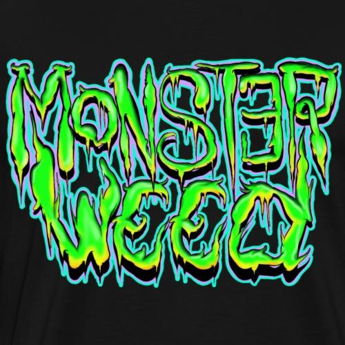 monster weed - Camiseta premium hombre