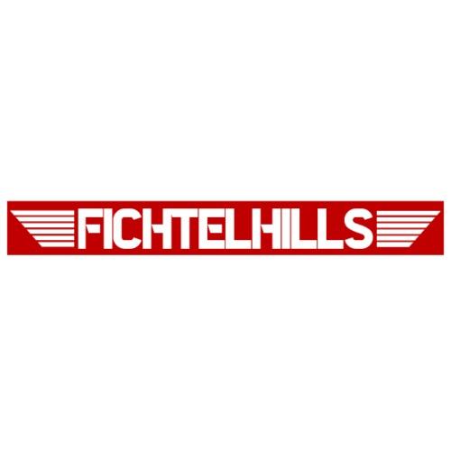 Fichtelhills Wings red - Männer Premium T-Shirt