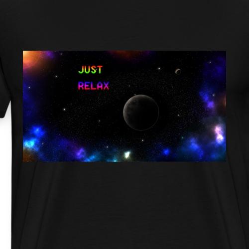 Universe: Just Relax - Männer Premium T-Shirt