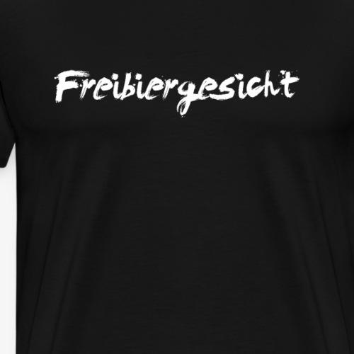 Freibiergesicht - Männer Premium T-Shirt