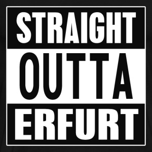 Straight outta Erfurt - Premium T-skjorte for menn