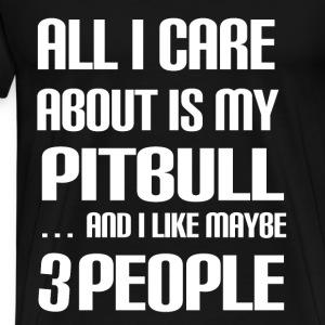 Pitbull Lover - Männer Premium T-Shirt