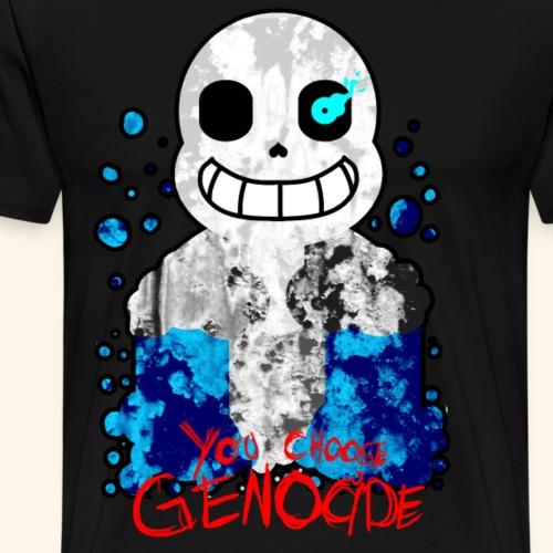 You Choose Genocide - Men's Premium T-Shirt