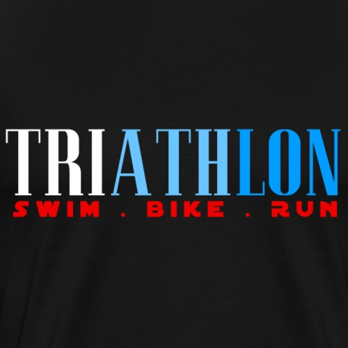 TRIATHLON - SWIN BIKE RUN - Triathlet - Männer Premium T-Shirt