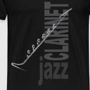 Jazz Clarinet - Men's Premium T-Shirt