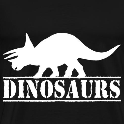 Dinosaurs Triceratops - Männer Premium T-Shirt