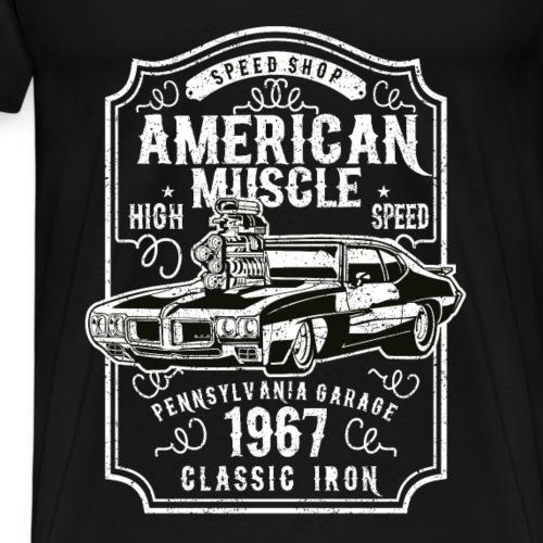 American Muscle - Männer Premium T-Shirt