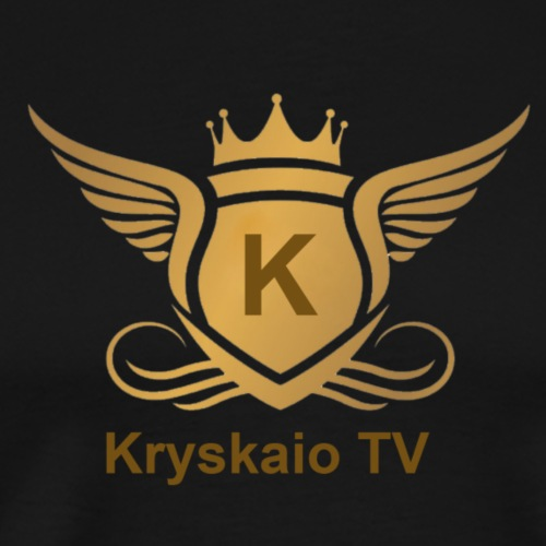Angel_Kryskaio_Logo_2018 - Männer Premium T-Shirt