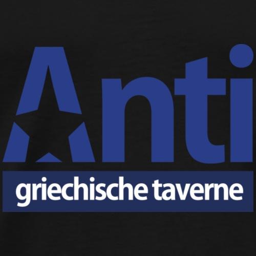 Anti Star Logo Blue version - Männer Premium T-Shirt