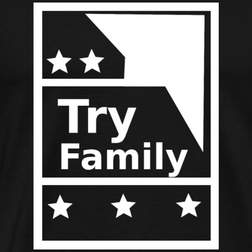 TryFamily_Hoodie - Männer Premium T-Shirt