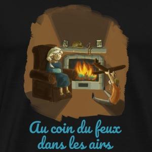 Au coin du feux - T-shirt Premium Homme