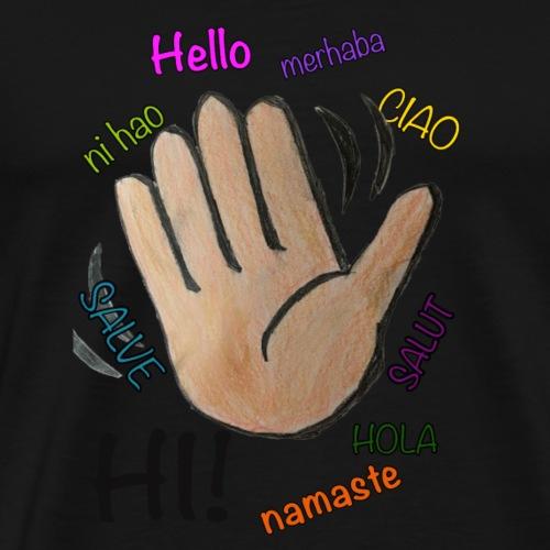 HandHello - Männer Premium T-Shirt