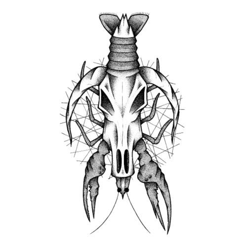 Skullgrayfish - Männer Premium T-Shirt