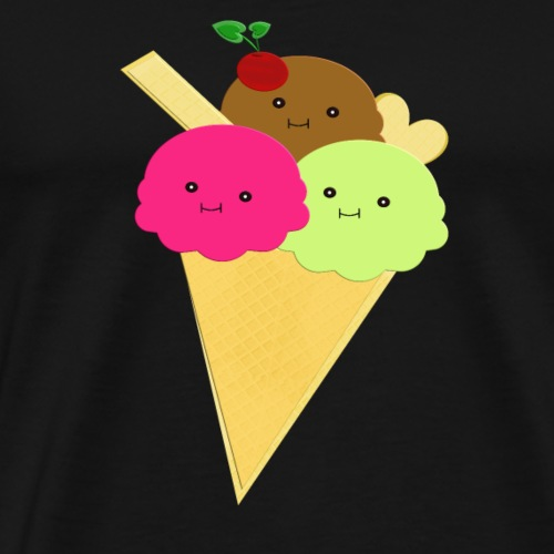 Eis Freunde! - Männer Premium T-Shirt