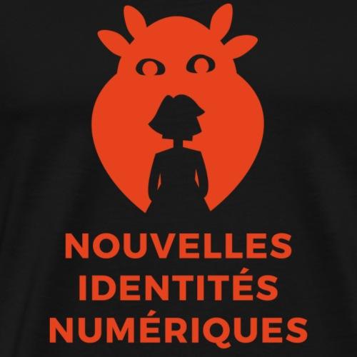 visuel identités numériques - T-shirt Premium Homme