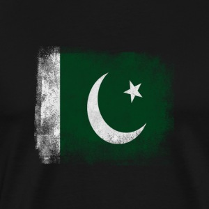 Pakistan-Flagge Proud Pakistan Vintage Distressed S - Männer Premium T-Shirt