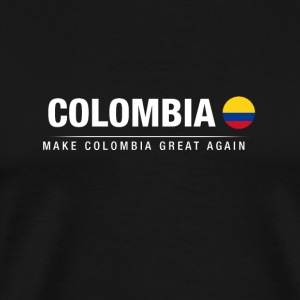 Echtgenoot Colombia Great Again - Mannen Premium T-shirt