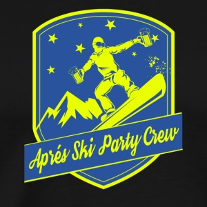 Apps Ski Party Crew - Premium-T-shirt herr