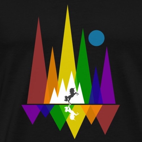 Unicorn LGBT Abstrackt Gay Pride