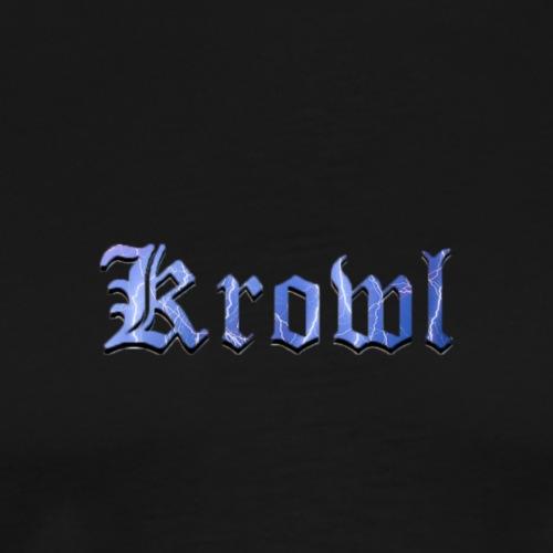 Krowl 1st Dark Side Design - T-shirt Premium Homme