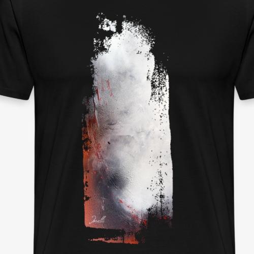Kunst Horror blutige Wand - Männer Premium T-Shirt