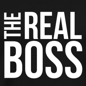 THE REAL BOSS - Herre premium T-shirt