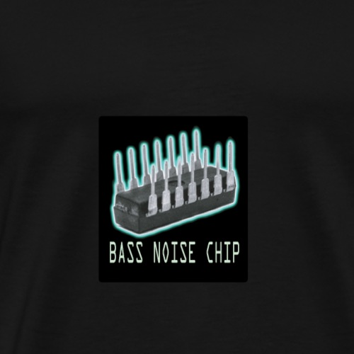 Bass voice chip design - Men's Premium T-Shirt