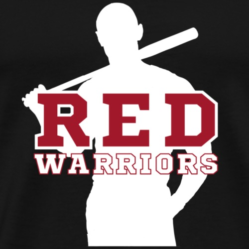 Red Warriors Logo3 - T-shirt Premium Homme