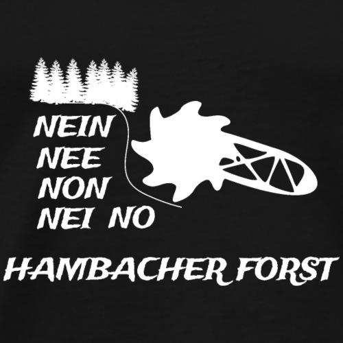 Hambacher Forst - Männer Premium T-Shirt