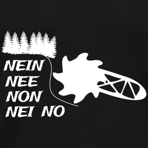 Braunkohleförderung stoppen - Männer Premium T-Shirt