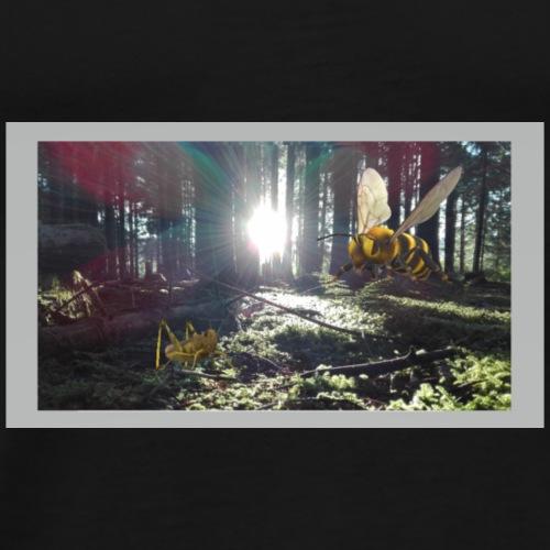 Dunkler Wald Dark Forest - Männer Premium T-Shirt