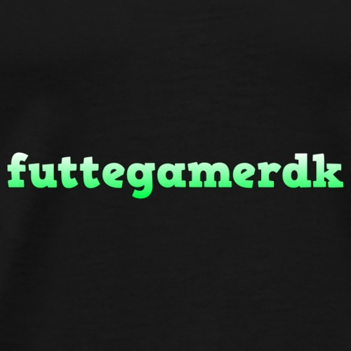 futtegamerdk trøjer badge og covers - Herre premium T-shirt