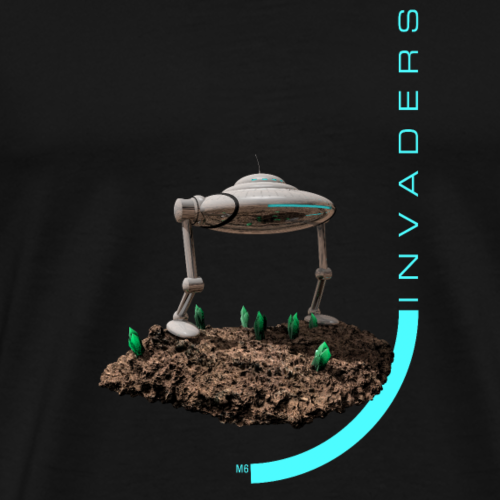 Invaders_X3 - Men's Premium T-Shirt
