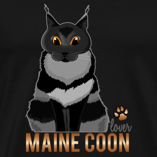 Maine Coon lover - T-shirt Premium Homme