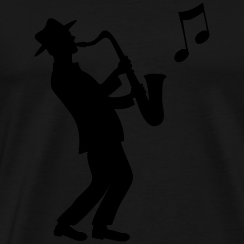 Saxophon - Männer Premium T-Shirt