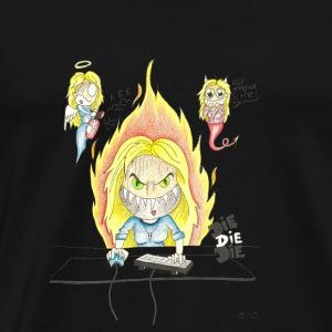 Gameuse - T-shirt Premium Homme