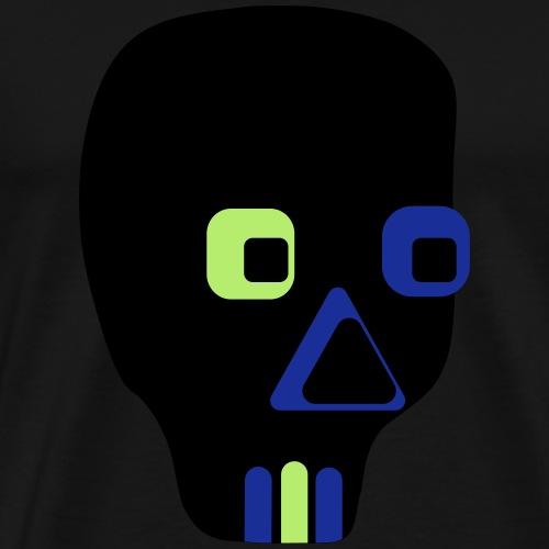 Totenkopf Design - Männer Premium T-Shirt