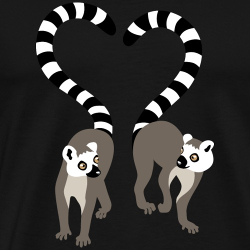 lemur love collection - Männer Premium T-Shirt