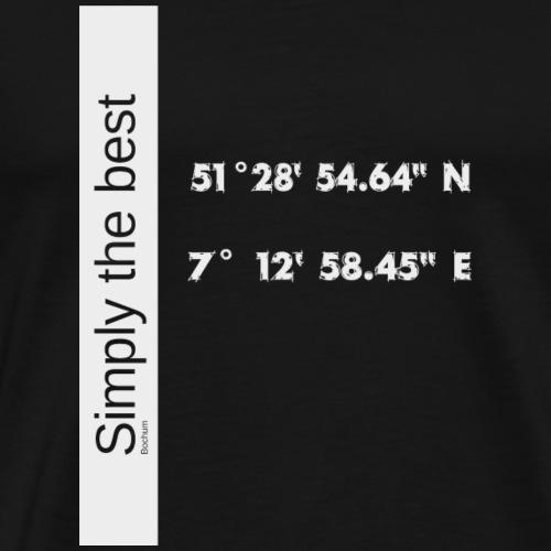 Bochum Simply the best - Männer Premium T-Shirt