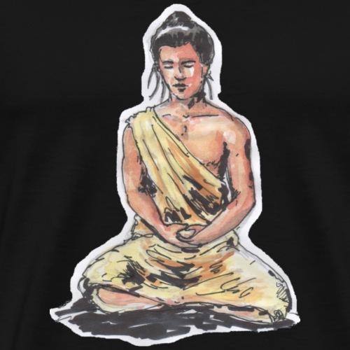 Bouddha meditation - T-shirt Premium Homme